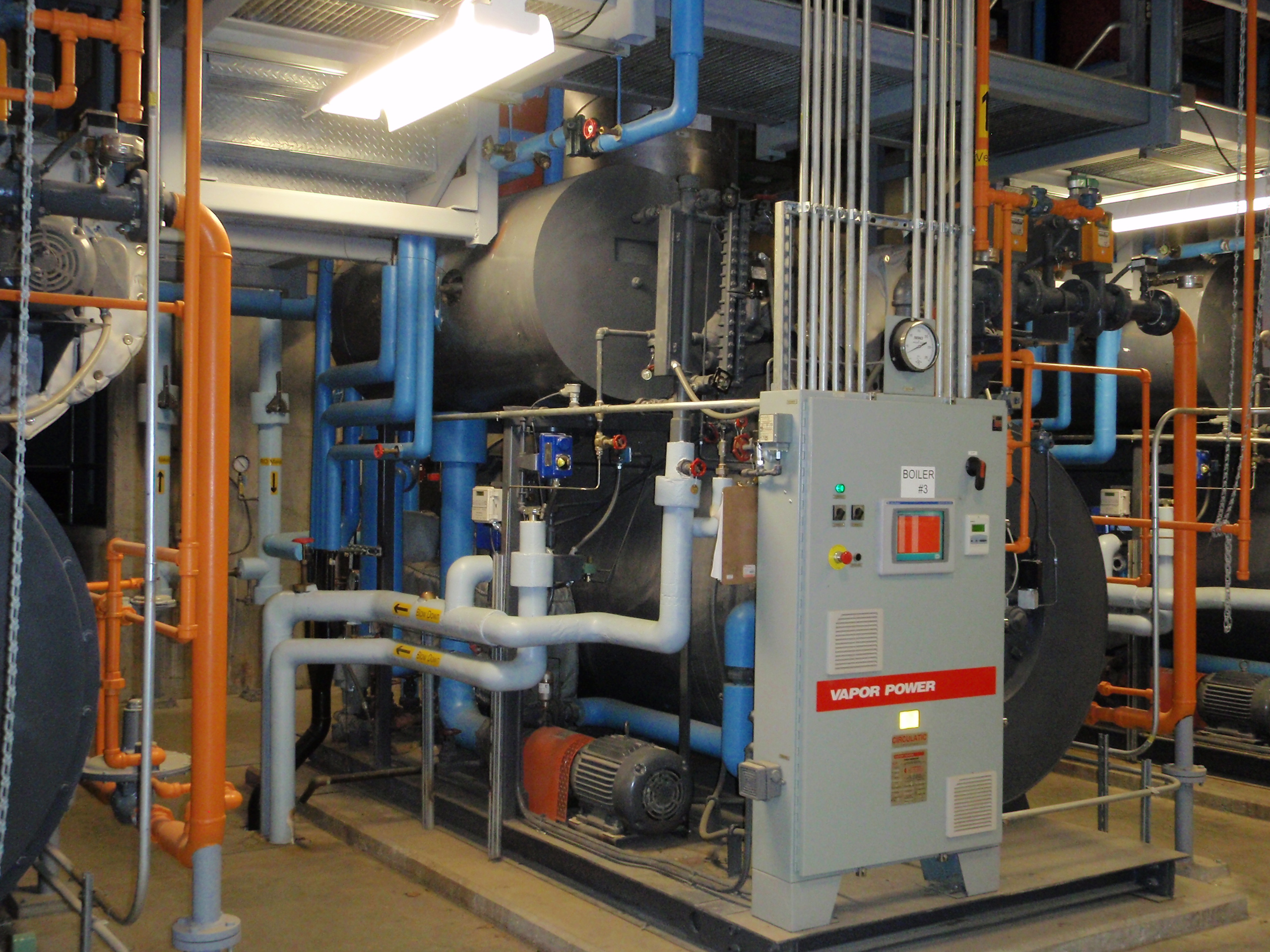 Boiler Feed Water Treatment ~ Steam boiler water treatment feed